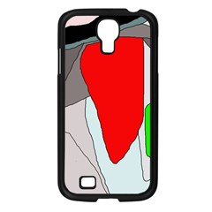 Colorful abstraction Samsung Galaxy S4 I9500/ I9505 Case (Black)