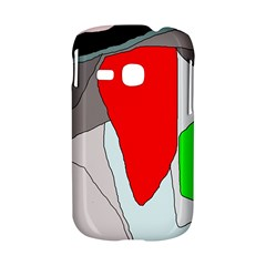 Colorful abstraction Samsung Galaxy S6310 Hardshell Case