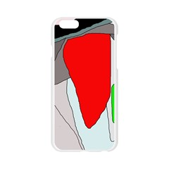 Colorful abstraction Apple Seamless iPhone 6/6S Case (Transparent)