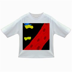 Red abstraction Infant/Toddler T-Shirts