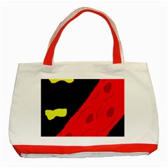 Red abstraction Classic Tote Bag (Red)