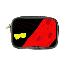 Red abstraction Coin Purse