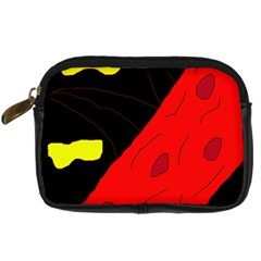 Red abstraction Digital Camera Cases