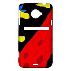 Red abstraction HTC Evo 4G LTE Hardshell Case