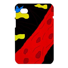 Red abstraction Samsung Galaxy Tab 7  P1000 Hardshell Case