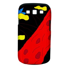 Red abstraction Samsung Galaxy S III Classic Hardshell Case (PC+Silicone)