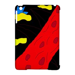 Red abstraction Apple iPad Mini Hardshell Case (Compatible with Smart Cover)