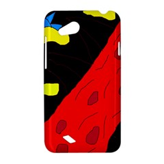 Red abstraction HTC Desire VC (T328D) Hardshell Case
