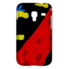 Red abstraction Samsung Galaxy Ace Plus S7500 Hardshell Case