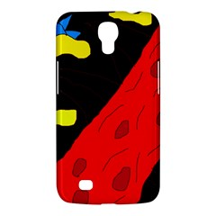 Red abstraction Samsung Galaxy Mega 6.3  I9200 Hardshell Case