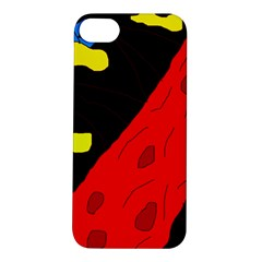 Red abstraction Apple iPhone 5S/ SE Hardshell Case