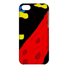 Red abstraction Apple iPhone 5C Hardshell Case