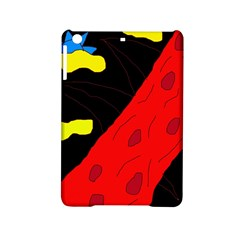 Red abstraction iPad Mini 2 Hardshell Cases