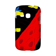 Red abstraction Samsung Galaxy S6310 Hardshell Case