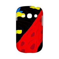 Red abstraction Samsung Galaxy S6810 Hardshell Case