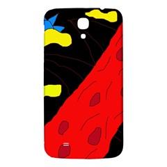 Red abstraction Samsung Galaxy Mega I9200 Hardshell Back Case