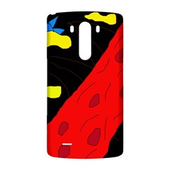 Red abstraction LG G3 Back Case