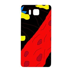 Red abstraction Samsung Galaxy Alpha Hardshell Back Case