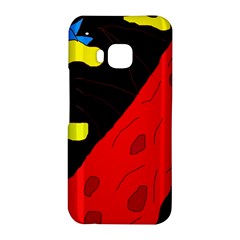 Red abstraction HTC One M9 Hardshell Case