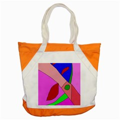 Pink abstraction Accent Tote Bag