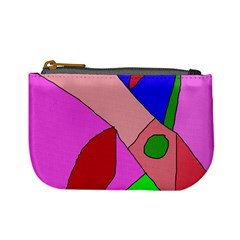 Pink abstraction Mini Coin Purses