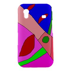 Pink abstraction Samsung Galaxy Ace S5830 Hardshell Case
