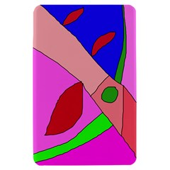 Pink abstraction Kindle Fire (1st Gen) Hardshell Case