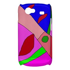Pink abstraction Samsung Galaxy Nexus S i9020 Hardshell Case