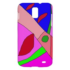 Pink abstraction Samsung Galaxy S II Skyrocket Hardshell Case