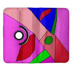 Pink abstraction Samsung Galaxy Note II Flip 360 Case