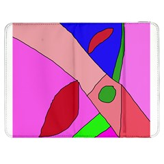 Pink abstraction Samsung Galaxy Tab 7  P1000 Flip Case