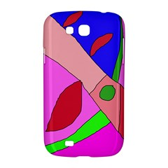 Pink abstraction Samsung Galaxy Grand GT-I9128 Hardshell Case