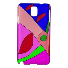 Pink abstraction Samsung Galaxy Note 3 N9005 Hardshell Case