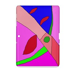 Pink abstraction Samsung Galaxy Tab 2 (10.1 ) P5100 Hardshell Case