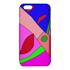 Pink abstraction iPhone 6/6S TPU Case