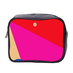 Colorful abstraction Mini Toiletries Bag 2-Side