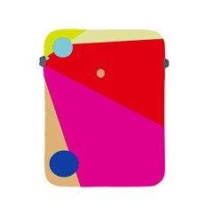 Colorful abstraction Apple iPad 2/3/4 Protective Soft Cases