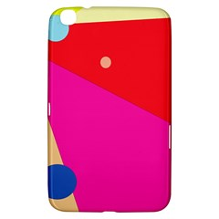 Colorful abstraction Samsung Galaxy Tab 3 (8 ) T3100 Hardshell Case