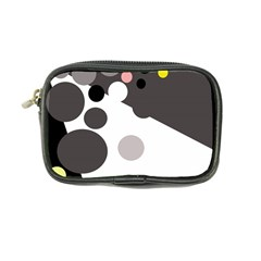 Gray, yellow and pink dots Coin Purse