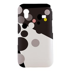 Gray, yellow and pink dots Samsung Galaxy Ace S5830 Hardshell Case
