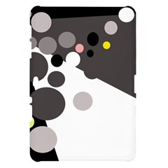 Gray, yellow and pink dots Samsung Galaxy Tab 10.1  P7500 Hardshell Case