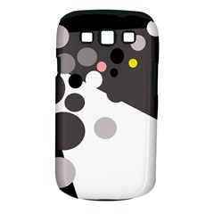 Gray, yellow and pink dots Samsung Galaxy S III Classic Hardshell Case (PC+Silicone)