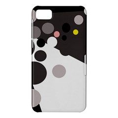 Gray, yellow and pink dots BlackBerry Z10