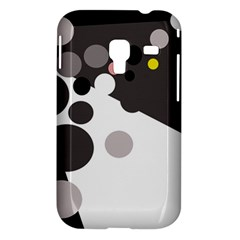 Gray, yellow and pink dots Samsung Galaxy Ace Plus S7500 Hardshell Case