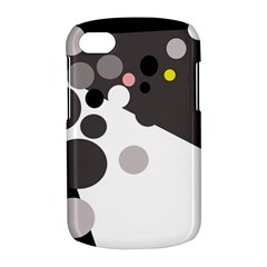 Gray, yellow and pink dots BlackBerry Q10