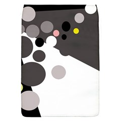Gray, yellow and pink dots Flap Covers (S)