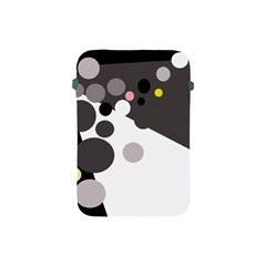 Gray, yellow and pink dots Apple iPad Mini Protective Soft Cases