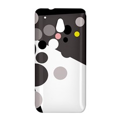Gray, yellow and pink dots HTC One Mini (601e) M4 Hardshell Case