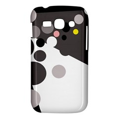 Gray, yellow and pink dots Samsung Galaxy Ace 3 S7272 Hardshell Case