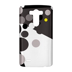 Gray, yellow and pink dots LG G3 Hardshell Case